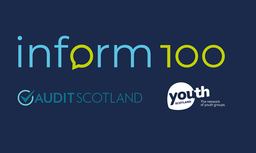 Audit Scotland and Youth Scotland launch Inform 100 to engage young people in public services